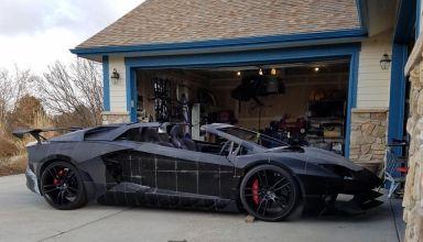 Lamborghini Aventador impreso en 3D
