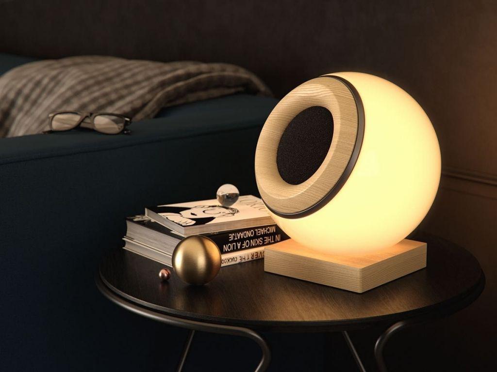Sistema de iluminación y altavoces
