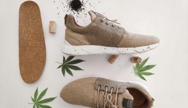 Zapatos fibra de Cannabis