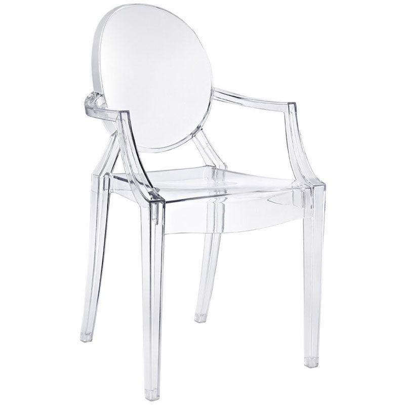 Silla Louis Ghost de Philippe Starck