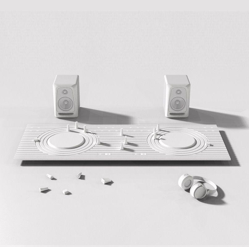 Consola minimalista