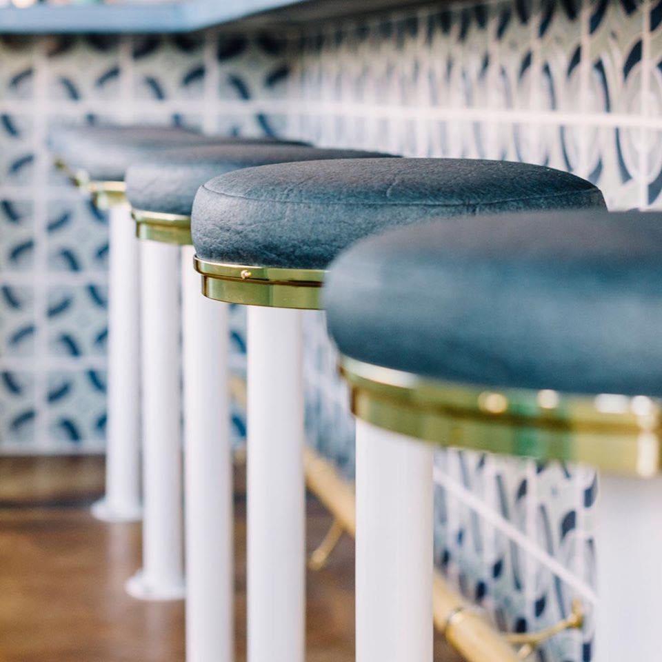 Cuero silla Textil hoja piña