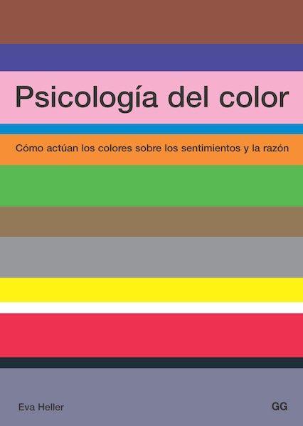 Psicologia del color Eva Heller. Libros diseño industrial.