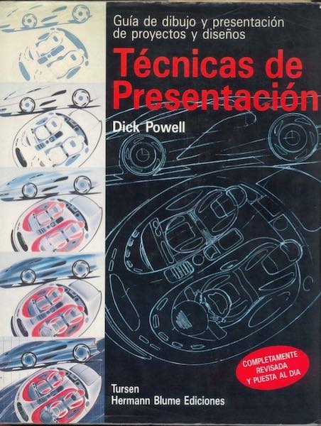 Tecnicas de Presentacion de Dick Powell. Libros diseño industrial.