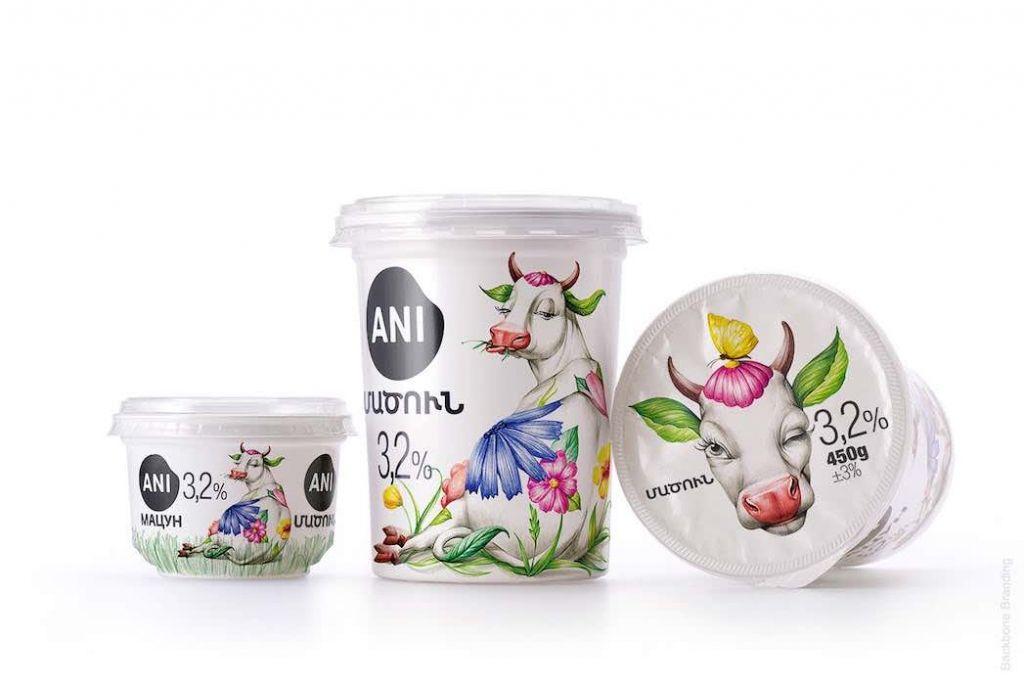 Ani Products Empaque lácteos Ani