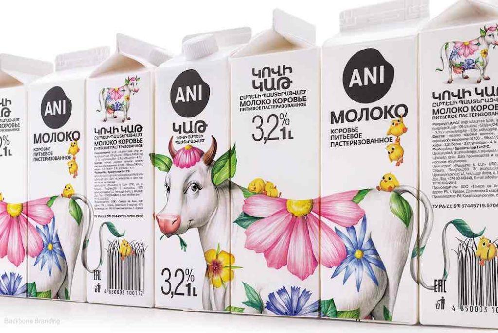 Empaque lácteos
