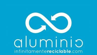Aluminio infinitamente reciclable Logo