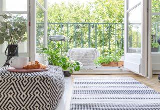 decorar balcón estrecho