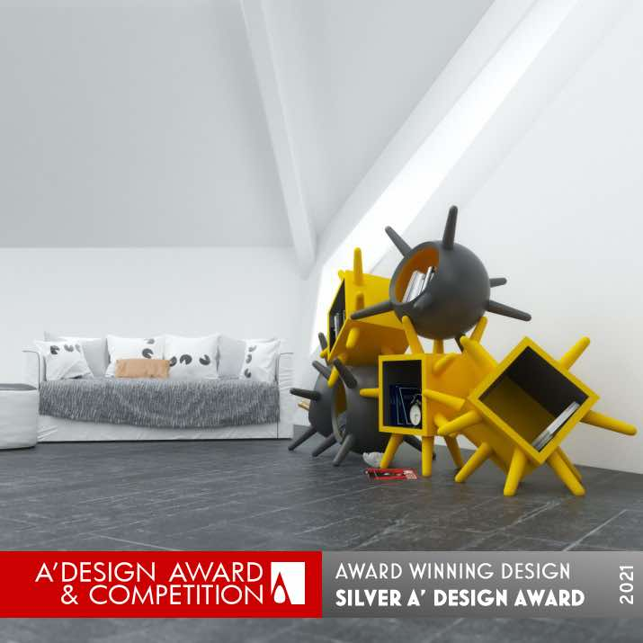Mueble multifuncional Oleg de Andrea Cingoli