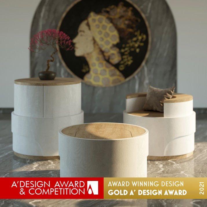 Silla multifuncional Spring de Navid Ghandili Abierta convocatoria A' Design