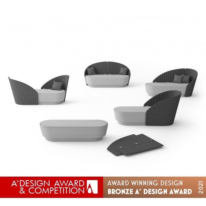 Sofá Shell de Alexey Danilin Abierta convocatoria A' Design