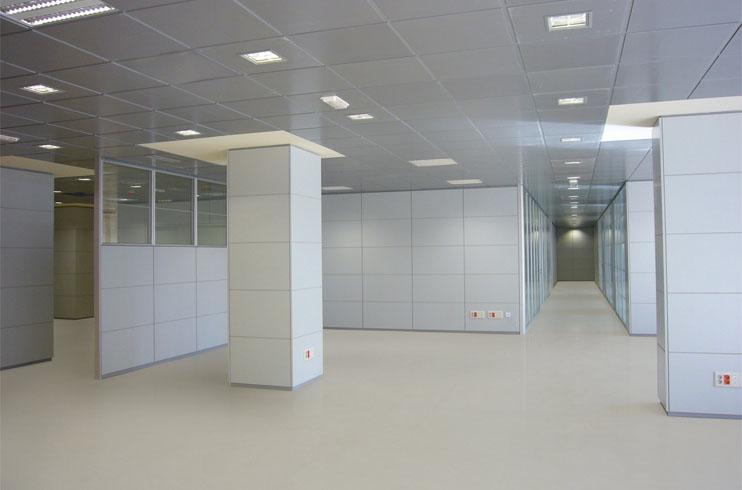 Mamparas para oficinas Serie Niza