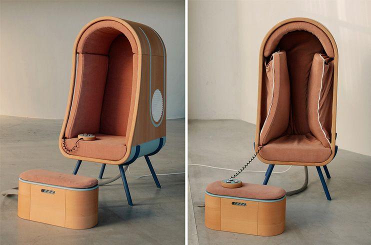 OTO silla diseñada para abrazar