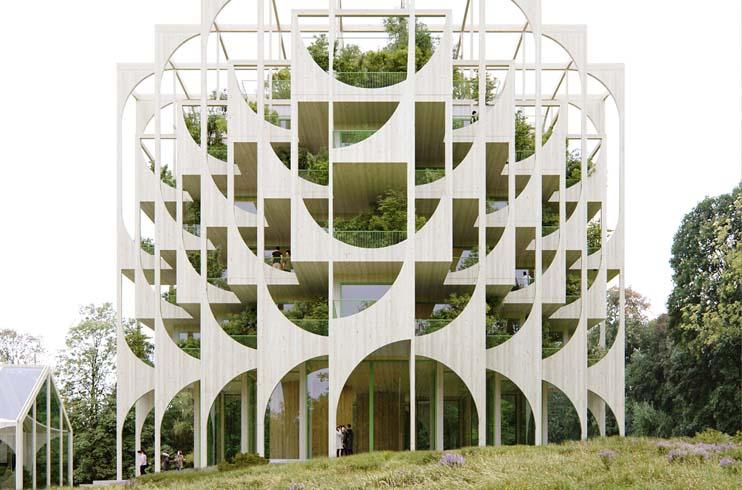 futuro diseño arquitectónico